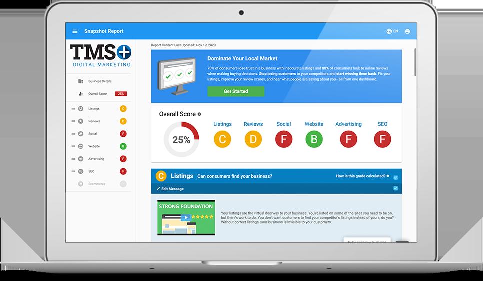 TMS+ Digital Snapshot Report